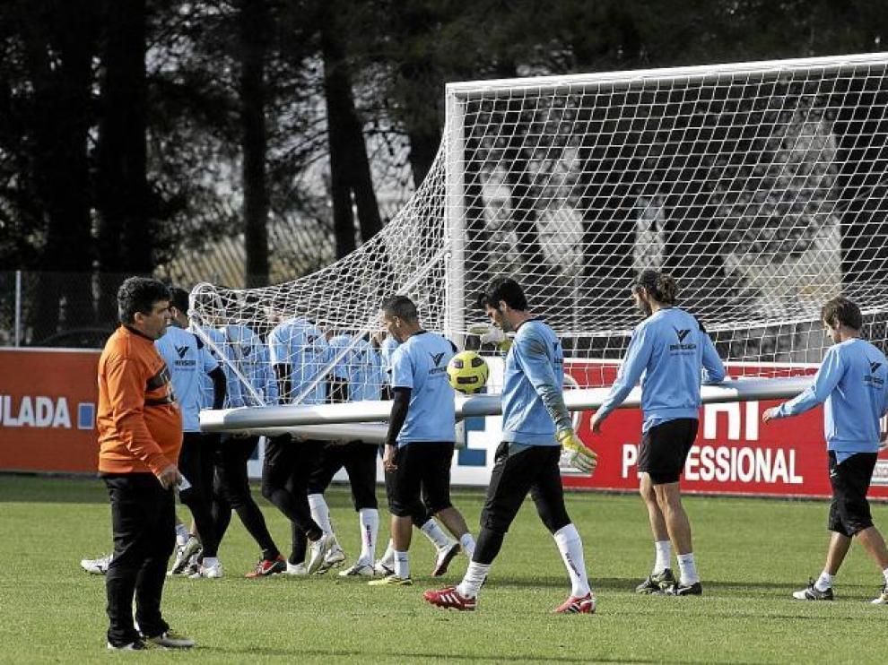 El Huesca vuelve hoy a los entrenamientos con la vista puesta en la visita al campo del Recreativo de Huelva.