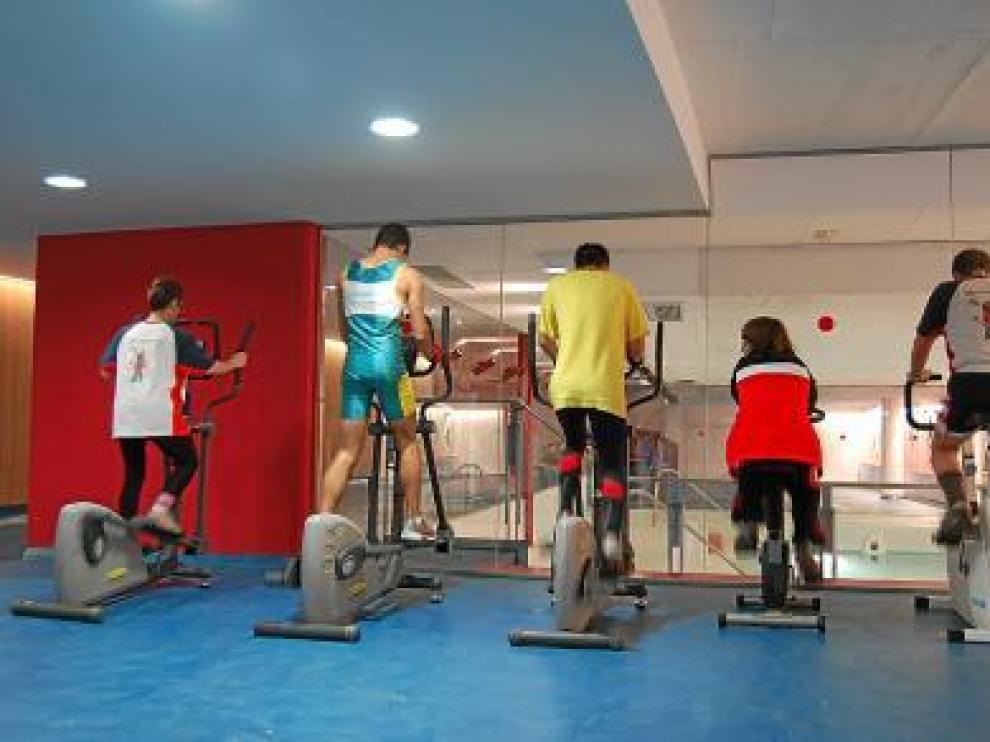 La instalación se moderniza con un completo gimnasio y piscina.