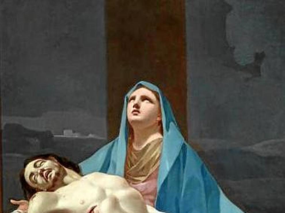 'Piedad' que Arturo Ansón atribuye a un joven Goya.
