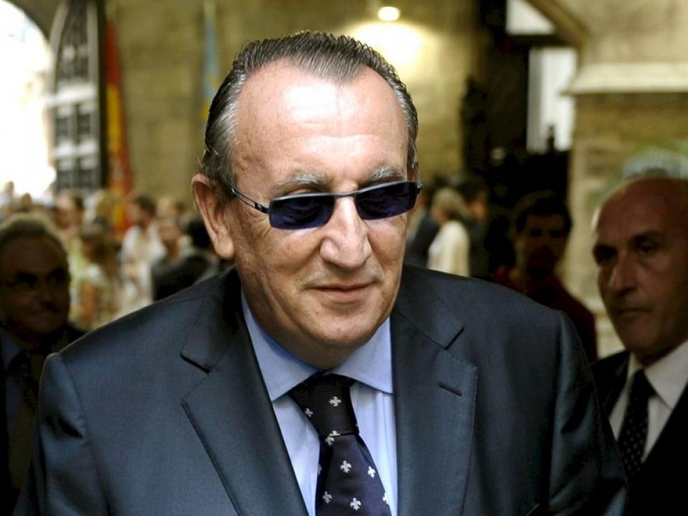 Carlos Fabra, presidente de la Diputación de Castellón
