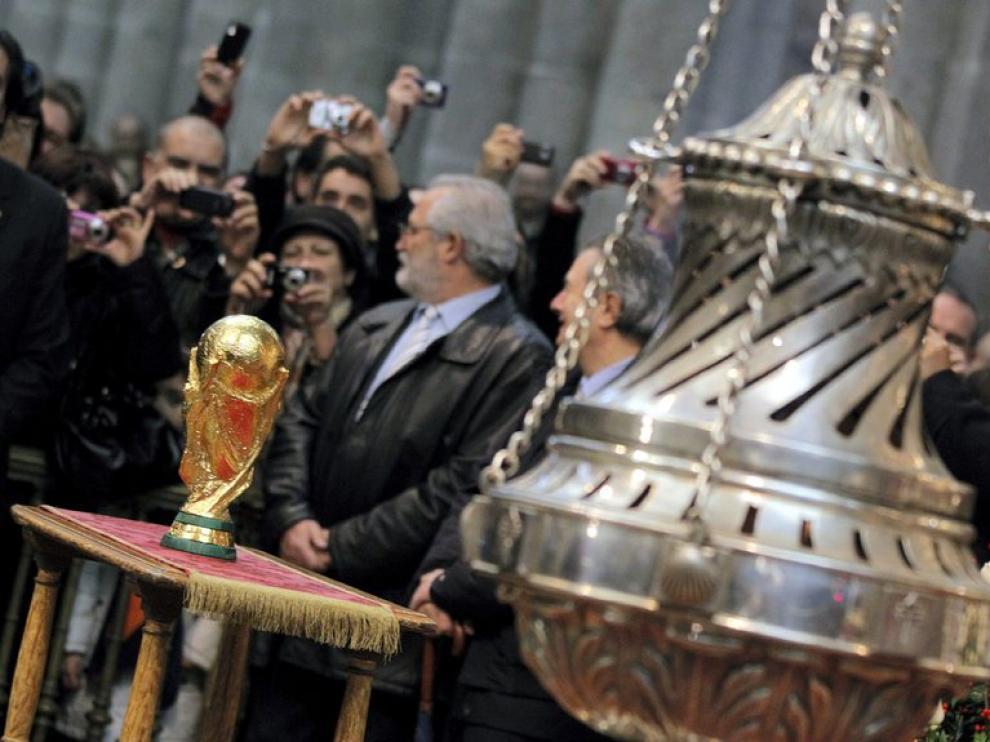 La Copa, en la catedral de Santiago con el botafumeiro