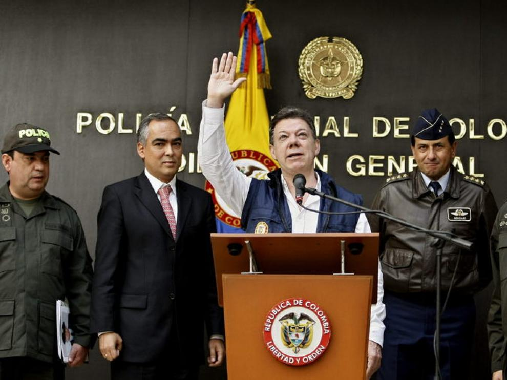 Santos confirma la muerte del narcotraficante