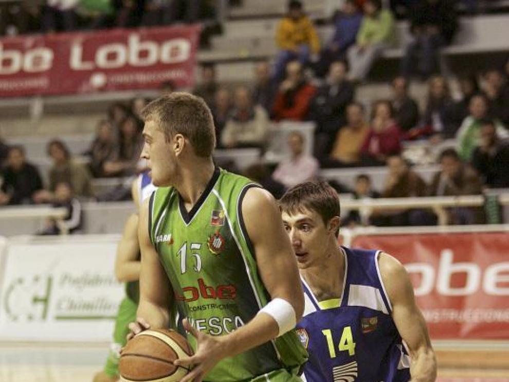 Freimanis fue uno de los jugadores utilizados ayer por Ángel Navarro ante la UB La Palma.