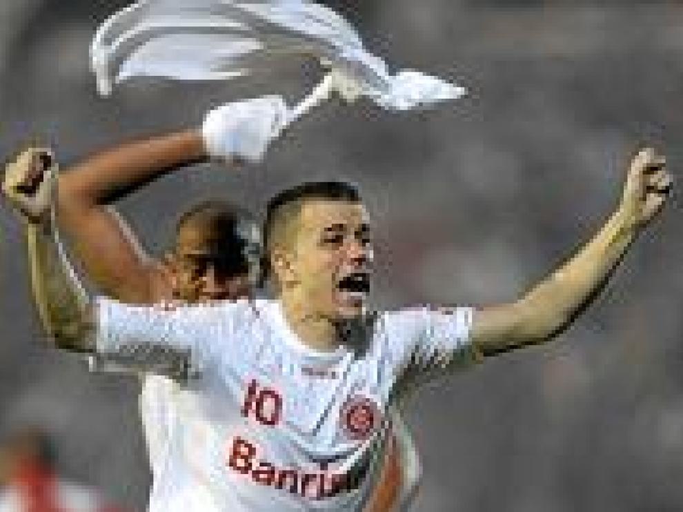 D'Alessandro, con el Inter.
