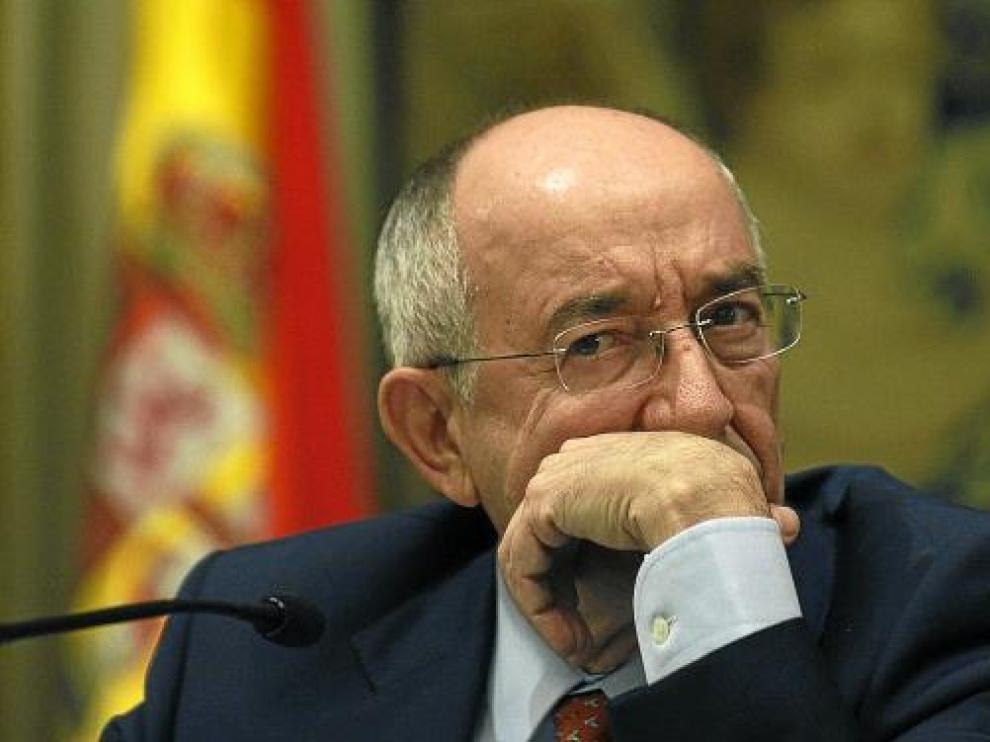 El gobernador del Banco de España, Miguel Ángel Fernández Ordóñez.