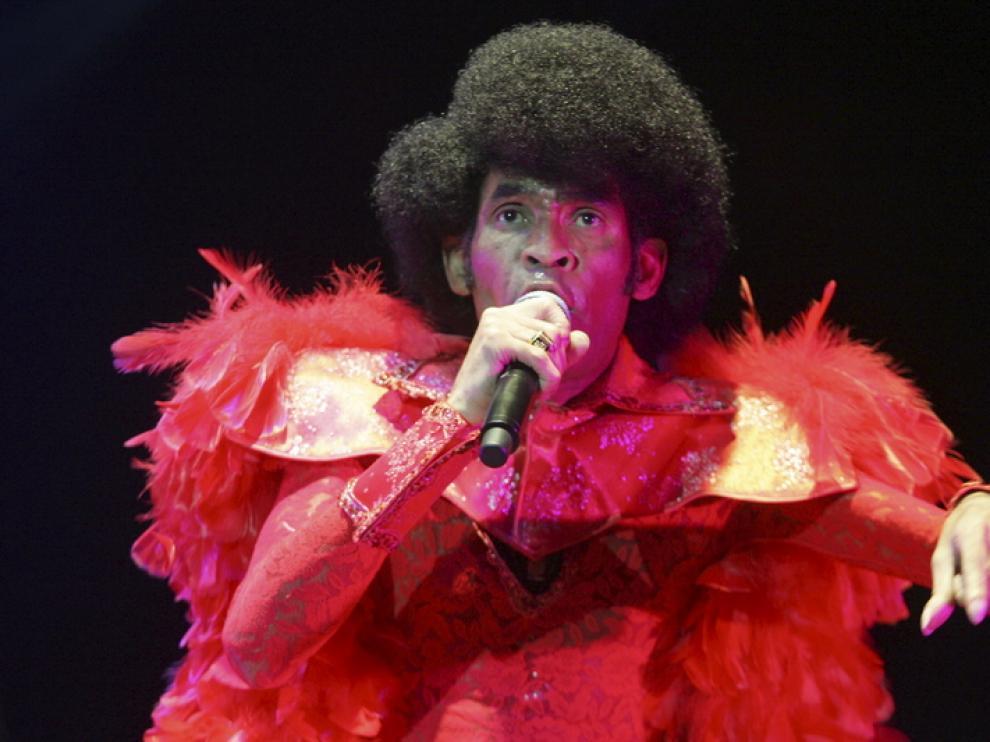 Bobby Farrell, en un concierto