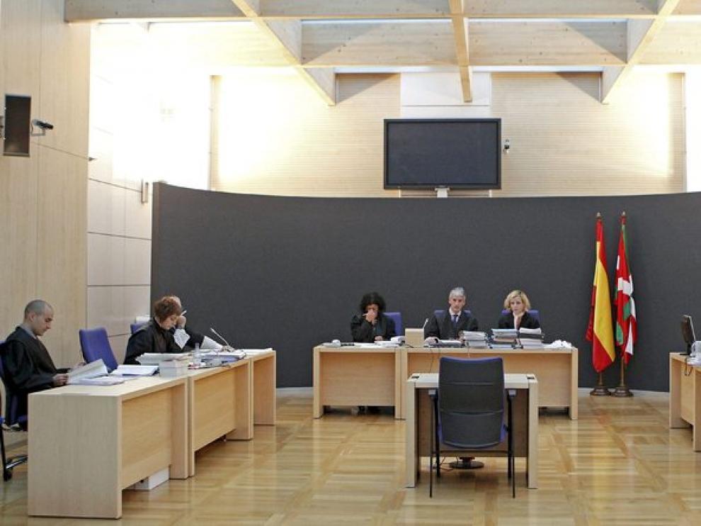 Sala de la Audiencia de Guipúzcoa.