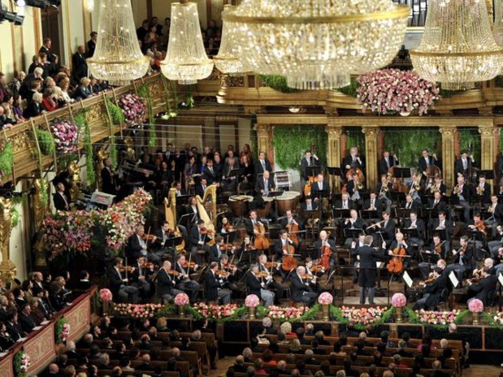 Tradicional concierto de Año Nuevo en Viena