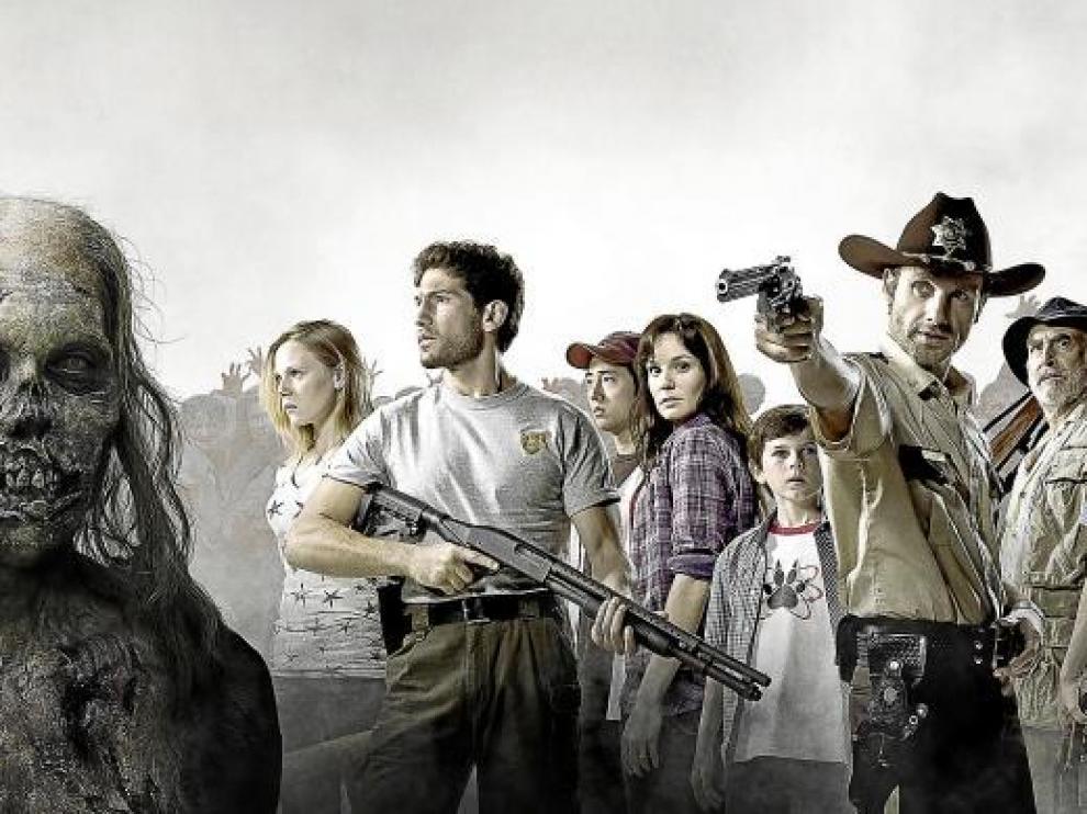 La serie apocalíptica 'The walking dead' se perfila como uno de los grandes éxitos de este año.