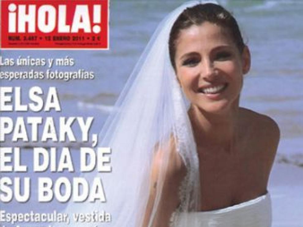 Elsa Pataky en la portada de Hola