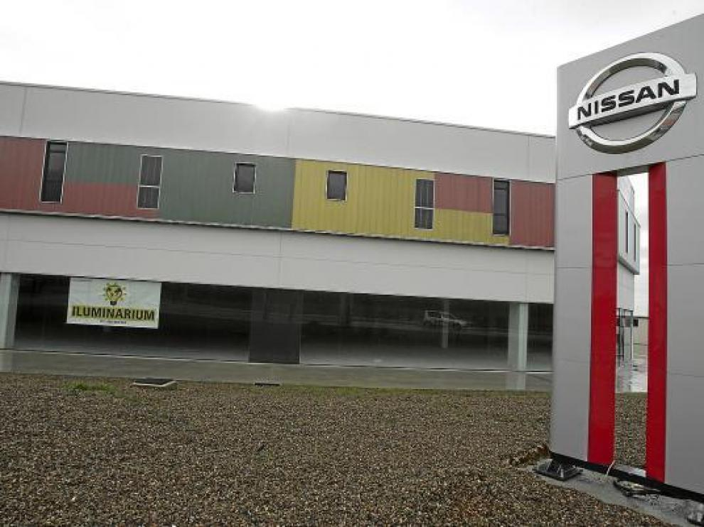 El concesionario de Nissan ha abierto sus puertas esta semana en la plataforma logística.
