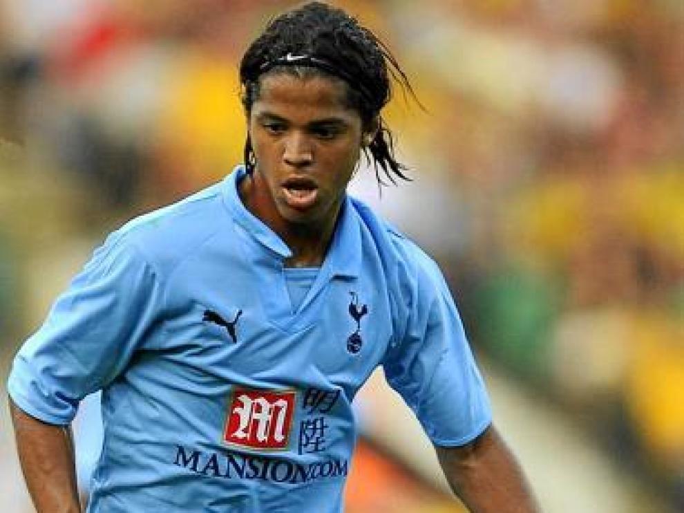 Giovani dos Santos, con el Tottenham Hotspur hace unas semanas.