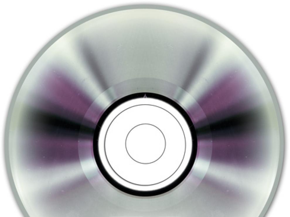 Un disco DVD