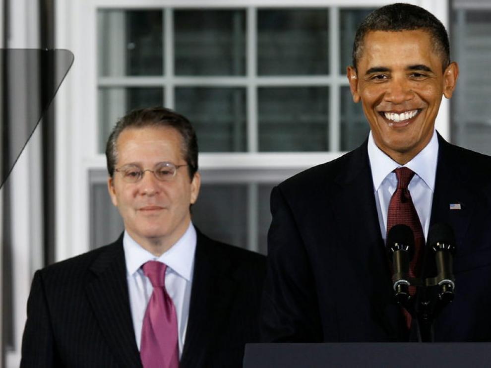 El presidente de EE. UU. presenta a Gene Sperling