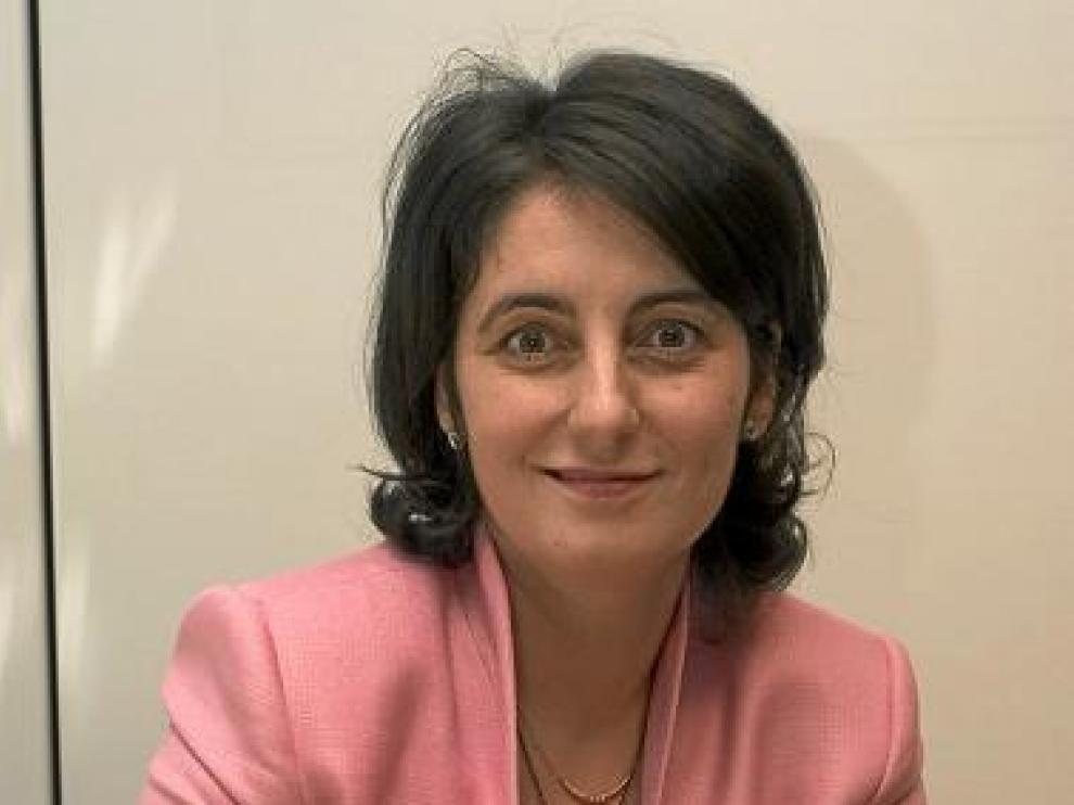 Myriam Laso, directora del aeropuerto Huesca-Pirineos.