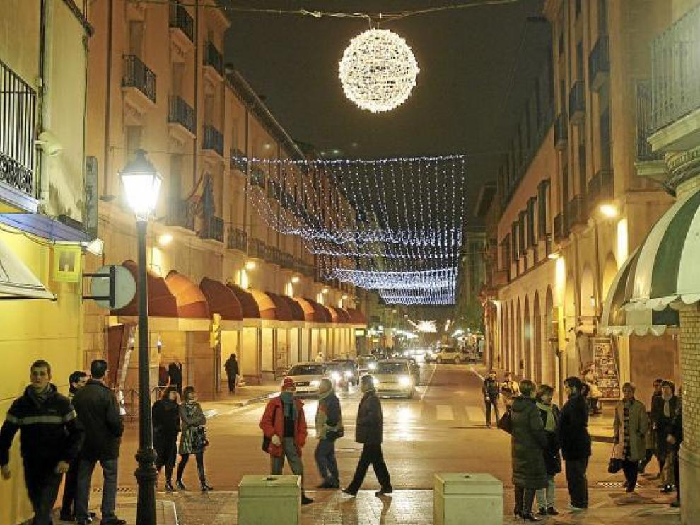 El gasto en alumbrado se dispara con la iluminación navideña.