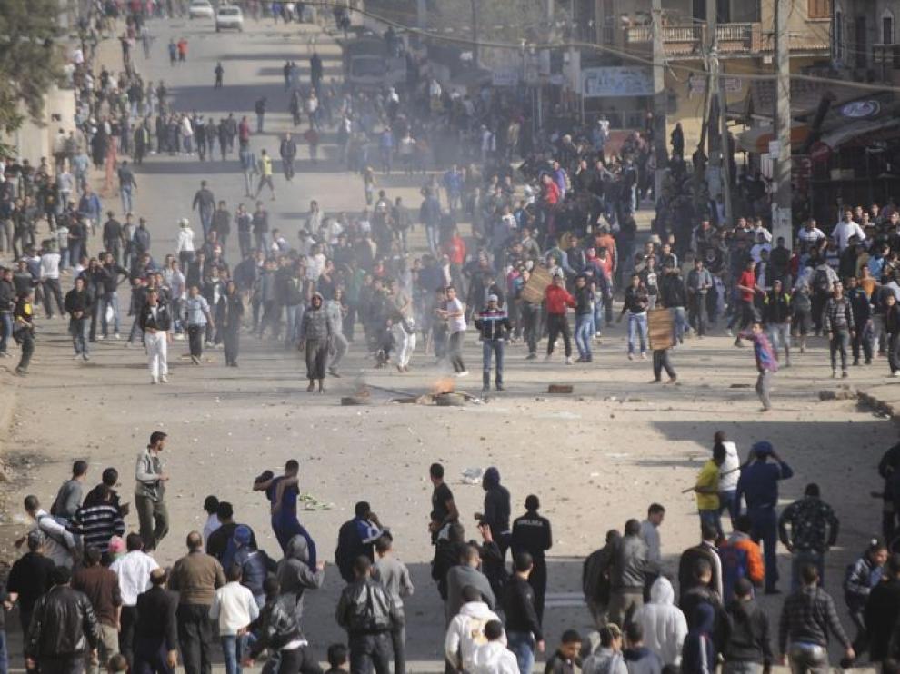Imágenes de las protestas del días 6.
