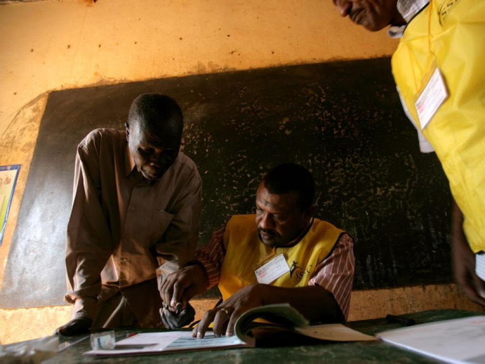 Referéndum en Sudán