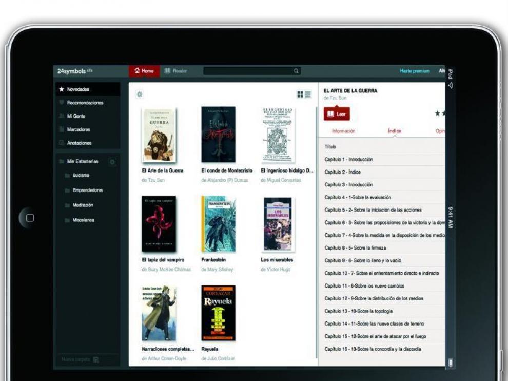 Un 'Spotify' de libros con acento español