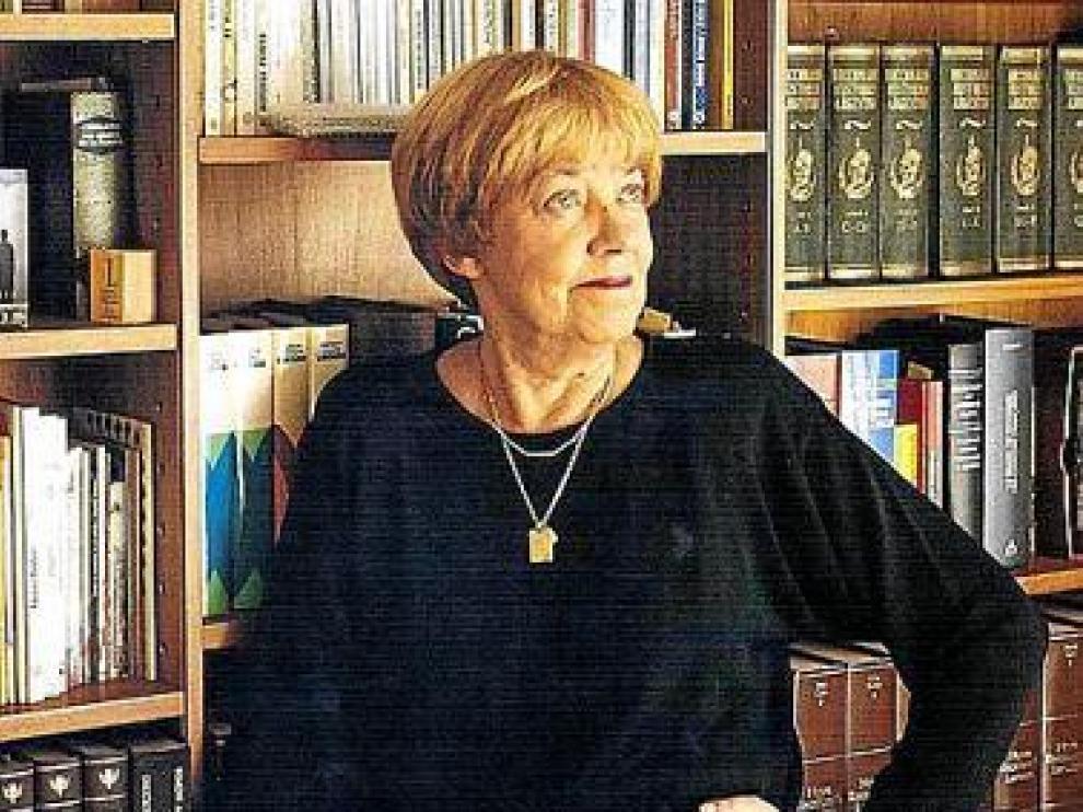 María Elena Walsh, en una imagen de archivo.