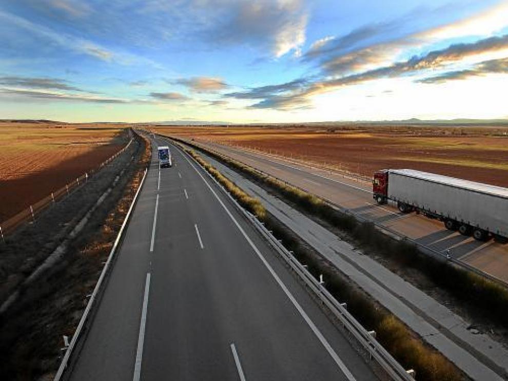 El tramo de autovía de Teruel a Santa Eulalia