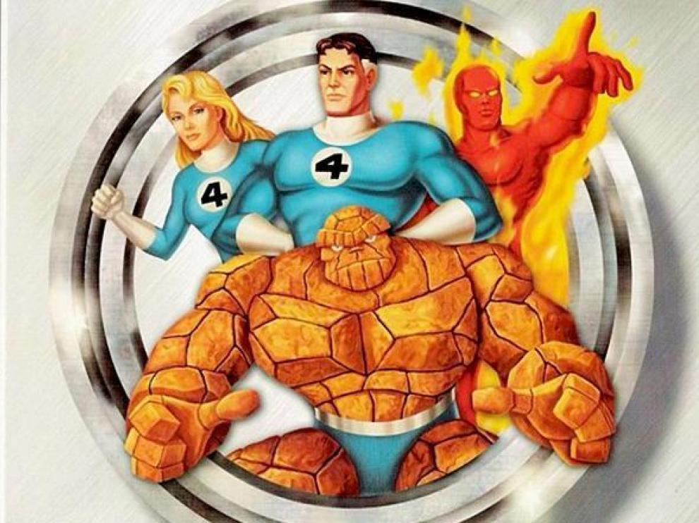 Los '4 Fantásticos'.