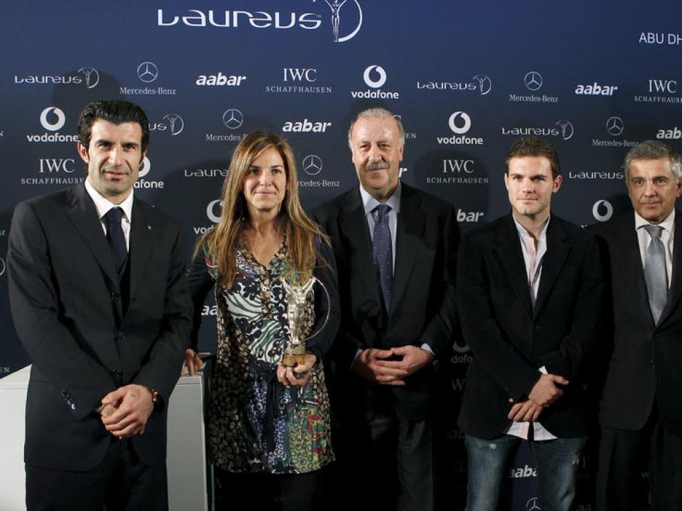 Presentación de Laureus en España.