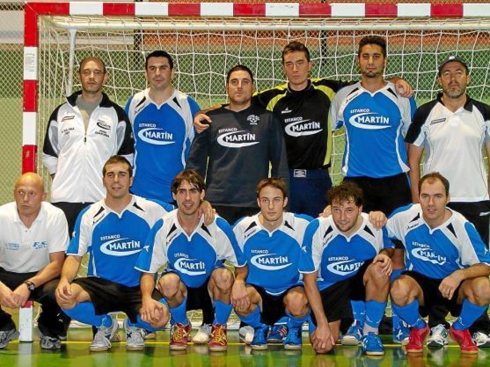 Formación del Estanco Martín, que milita en la Primera Nacional A de fútbol sala.