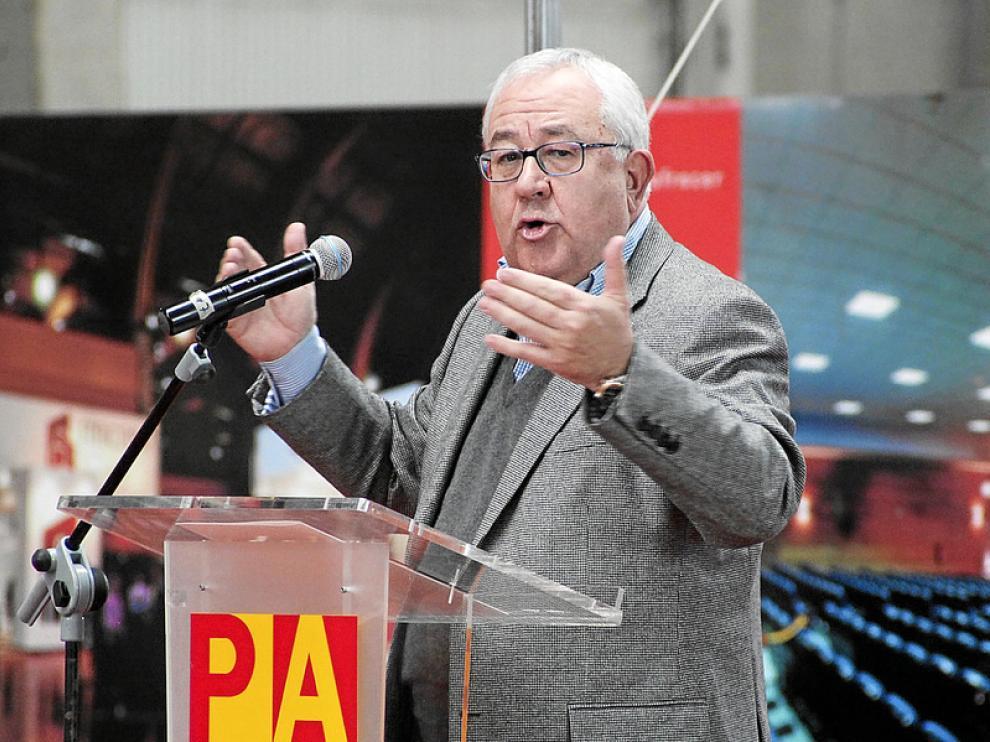 El presidente del PAR, José Ángel Biel.