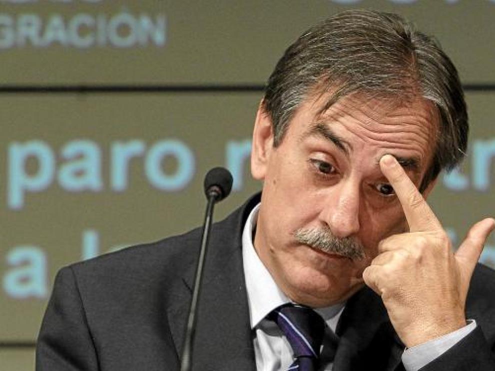 El ministro de Trabajo, Valeriano Gómez, en una imagen de archivo.