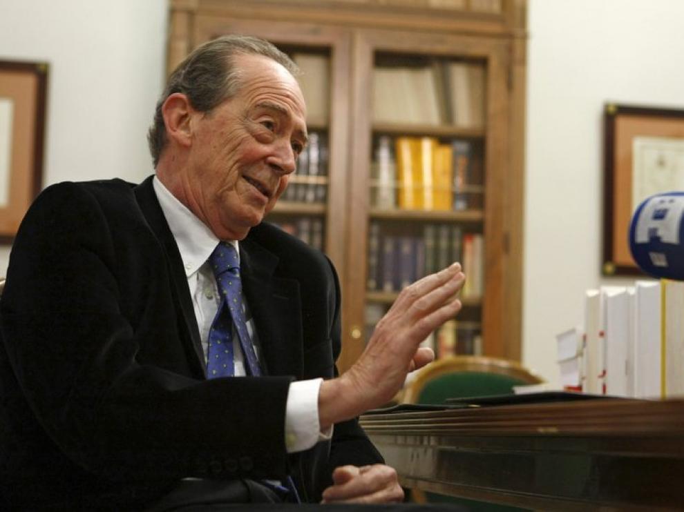 El nuevo director de la RAE José Manuel Blecua.