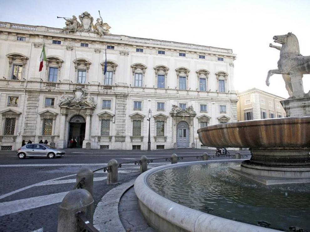 Sede del Tribunal Constitucional italiano.