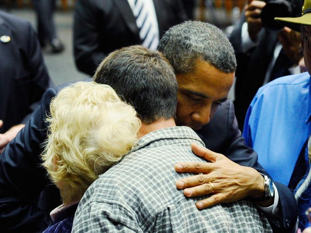 Obama participó en un homenaje a las víctimas