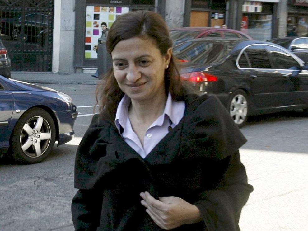 La ex alcaldesa de Torrejón, Trinidad Rollán