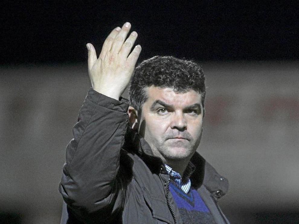 Onésimo, en la imagen, vuelve hoy a Valladolid con el objetivo de que el Huesca siga sumando puntos.
