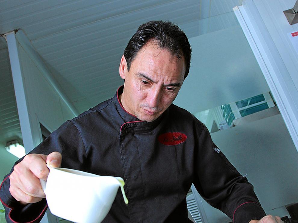 José Ignacio Acirón, chef del restaurante La Bastilla.