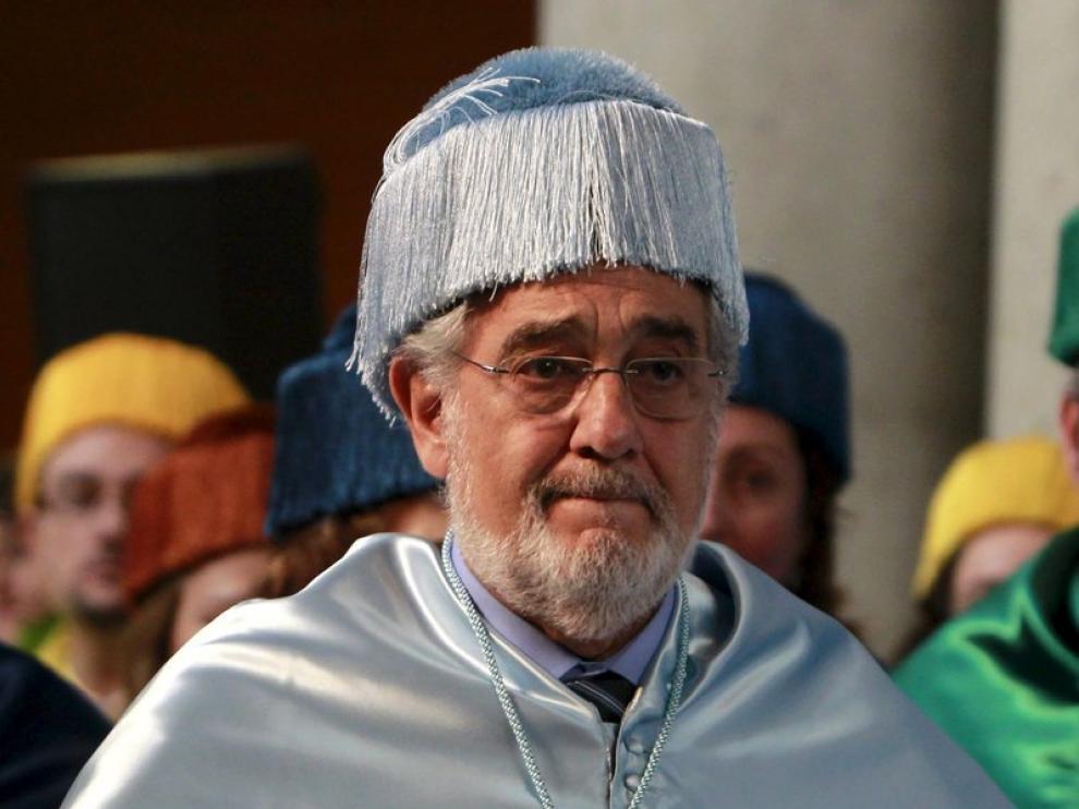 Plácido Domingo recibe la Orden de las Artes y las Letras de España