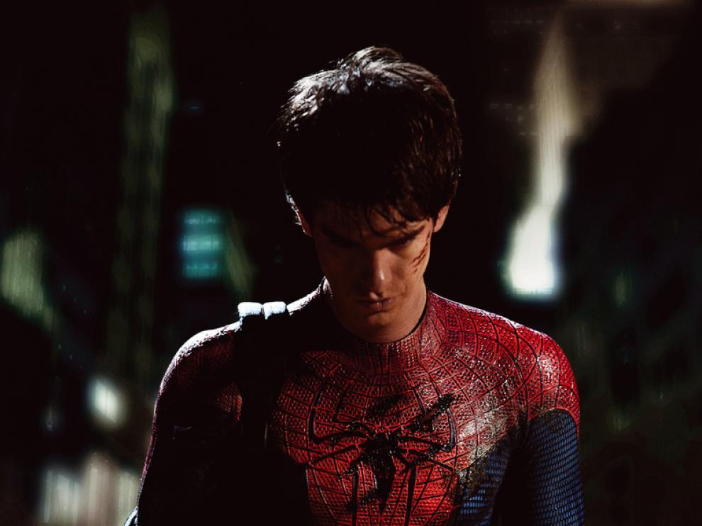 El actor Andrew Garfield es el nuevo Spiderman.