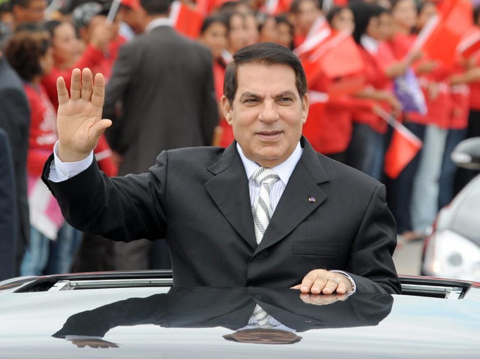 Ben Ali, ex presidente de Túnez