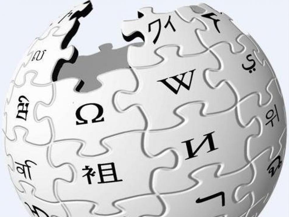 El logo de Wikipedia