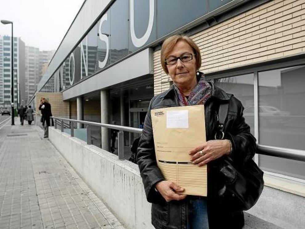 Ana María Rubio ha esperado 1 año y 2 meses para tener una consulta de Traumatología.