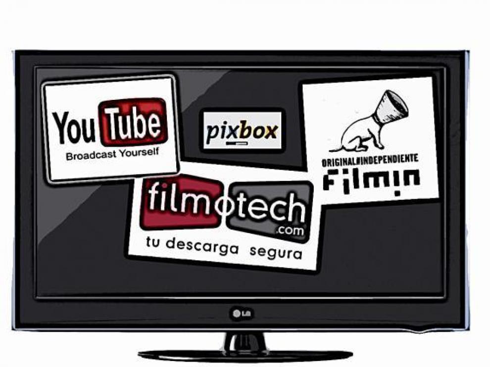Películas 'on-line',  sin piratear... y caras