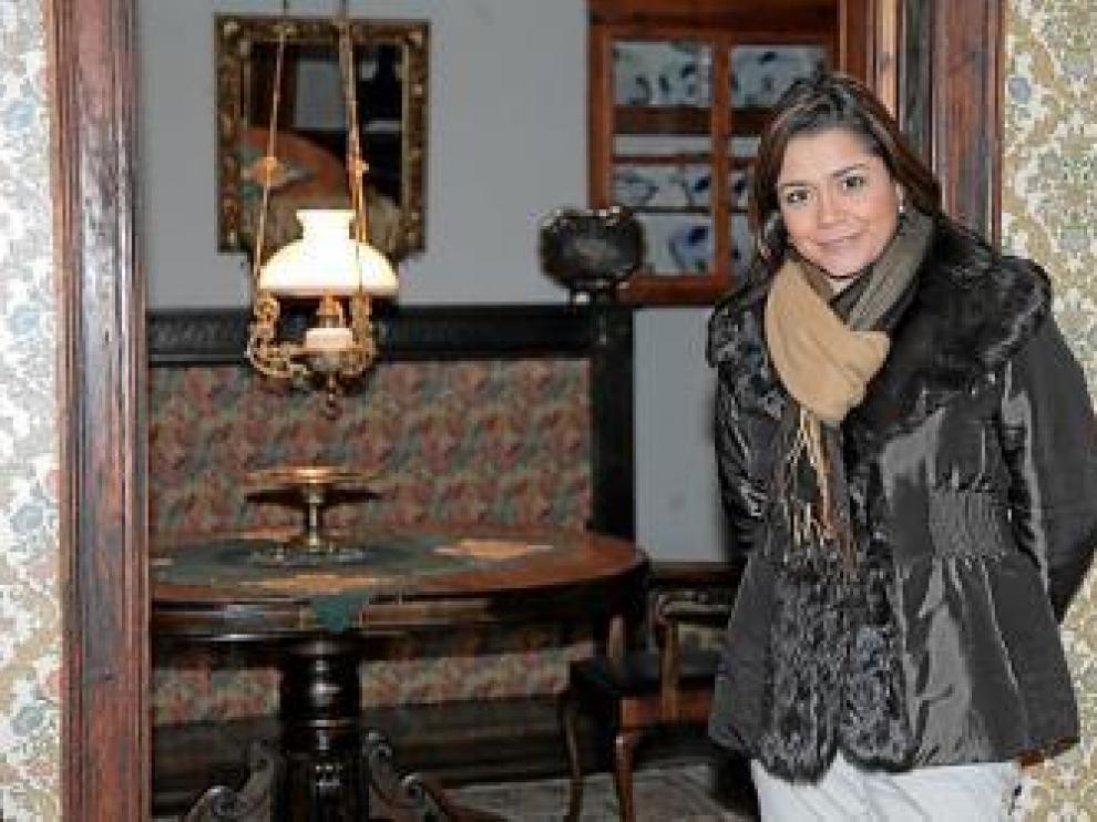 Ana Rodríguez, presentadora de 'La llave maestra'.