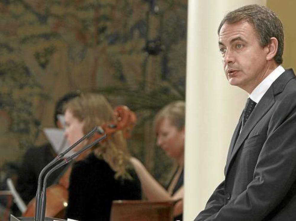 El presidente del Gobierno, Rodríguez Zapatero