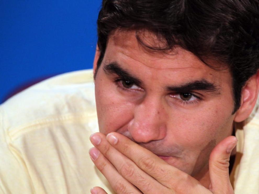 Roger Federer en Australia.