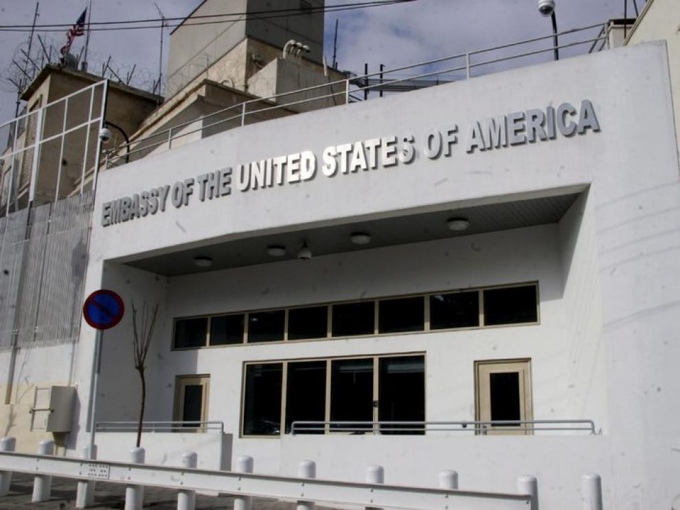 Embajada de EE. UU. en Siria.