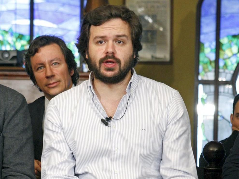El presidente de Nuevas Generaciones y diputado nacional por Valencia, Nacho Uriarte