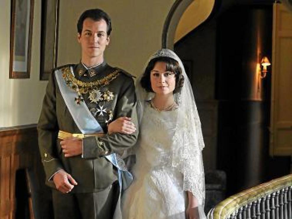 Jordi Suquet y Nadia de Santiago, como los Reyes.
