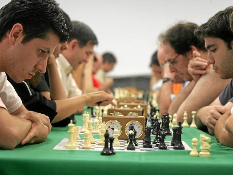 Imagen de archivo de un anterior toreno de ajedrez celebrado en Estadilla.