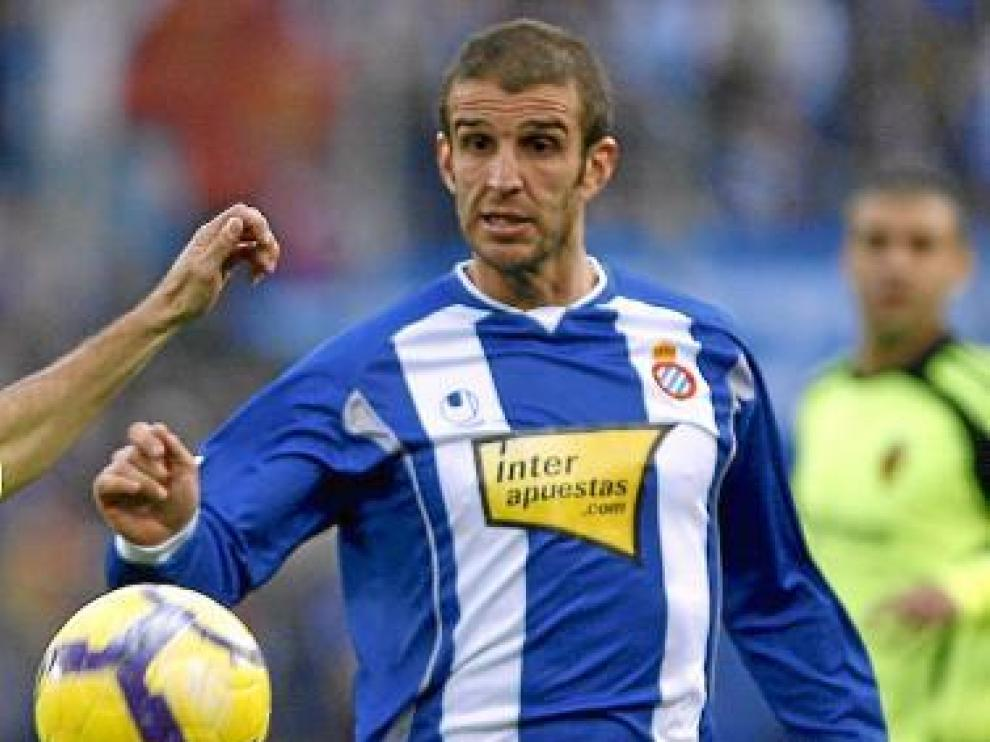 Alonso, delantero uruguayo del Espanyol.
